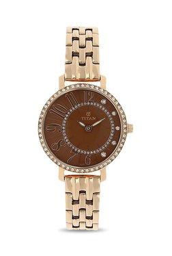 Titan NK95041WM02 Purple Past Modern Analog Watch For Women