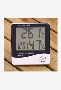 MCP HTC-1 Digital Room Thermometer (Black/White)