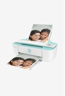 HP DeskJet Ink Advantage 3776 All-in-One Printer (White/Green)