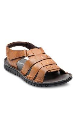 Franco Leone Tan Fisherman Sandals - Mp000000002144037