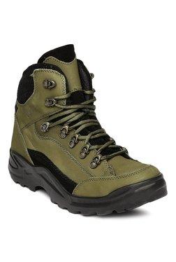 Franco Leone Olive Casual Boots