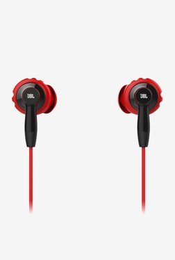 JBL INSPIRE 300 In The Ear Earphones with Mic (Red)