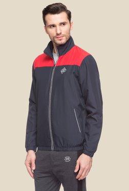 Status Quo Navy & Red Full Sleeves Jacket
