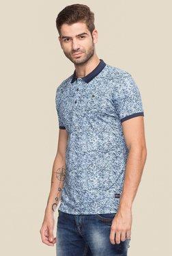 Status Quo Navy & White Short Sleeves Polo T-Shirt