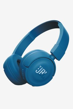 JBL T450BT Bluetooth Earphone with Mic (Blue)