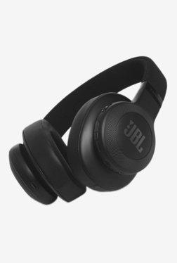 JBL E55BT Bluetooth Earphone with Mic (Black)