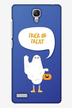 Amzer Trick Or Treat White Ghost Halloween Designer Case For Redmi Note Prime/Redmi Note 4G