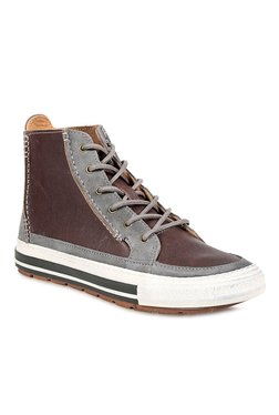 f33064c9f018 Clarks Nepler Rise Brown   Grey Casual Boots