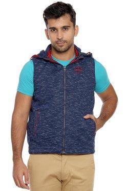 Duke Red & Navy Slim Fit Reversible Jacket