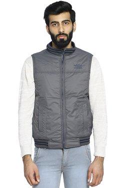 cabe7590d18941 Duke Navy   Slate Blue Sleeveless Reversible Jacket