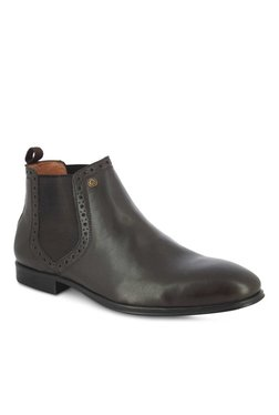 Alberto Torresi Fillipo Dark Brown Chelsea Boots