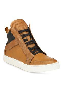 Alberto Torresi Shomani Tan & Navy Casual Boots