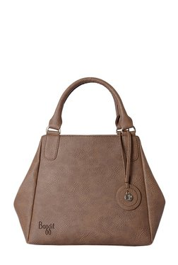 Baggit Salt Brown Distressed Handbag