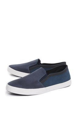 SOLEPLAYby Westside Navy Suede Loafers