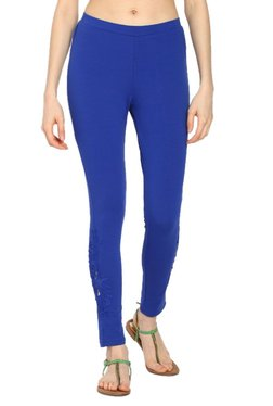 Soch Royal Blue Slim Fit Churidar