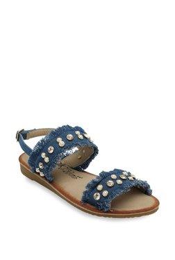 Catwalk Denim Blue Back Strap Sandals