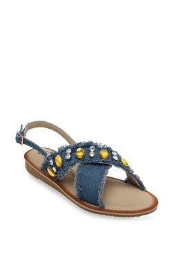 Catwalk Denim Blue Back Strap Sandals - Mp000000002166920