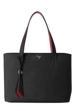 Baggit Bluto Black Solid Shoulder Bag