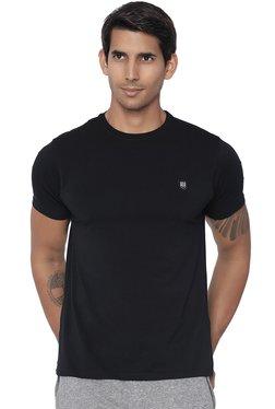 883 Police Black Round Neck Slim Fit T-Shirt