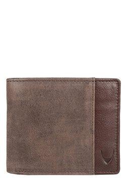 Hidesign 287-l103F Light Brown Panelled RFID Bi-Fold Wallet