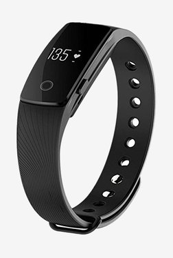 Enhance Limited Edition Ultimate ID 107 HR Premium Fitness Band (Black)