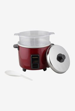 Panasonic SR-WA10HS 2.7 L 450 W Electric Rice Cooker (Burgundy)