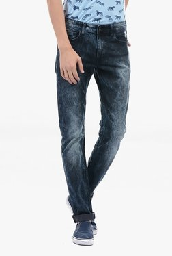 Pepe Jeans Blue Lightly Washed Mid Rise Jeans - Mp000000002182732