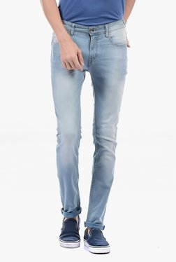 Pepe Jeans Blue Lightly Washed Mid Rise Jeans - Mp000000002182118