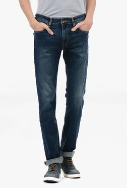 Pepe Jeans Blue Lightly Washed Mid Rise Jeans - Mp000000002182779