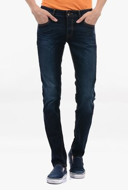 Pepe Jeans Blue Lightly Washed Mid Rise Jeans - Mp000000002182844