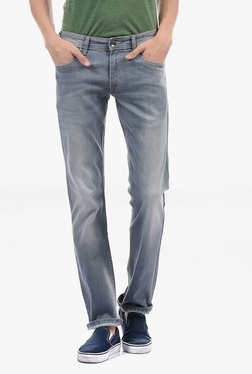 Pepe Jeans Grey Lightly Washed Mid Rise Jeans - Mp000000002182972