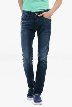 Pepe Jeans Blue Lightly Washed Mid Rise Jeans - Mp000000002183303