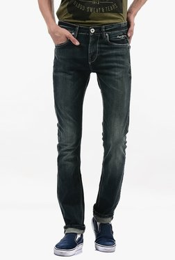 Pepe Jeans Black Lightly Washed Mid Rise Jeans - Mp000000002183401