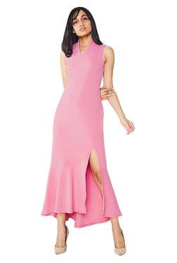 AND Rose Pink Ruffle Dress