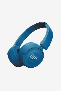 JBL T450BT Bluetooth Headphones with Mic (Blue)
