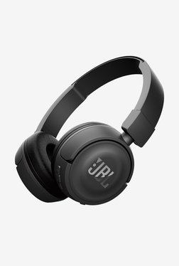 JBL T450BT Bluetooth Headphones with Mic (Black)