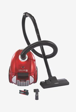 Eureka Fobes Trendy Zip + 1000-Watt Vacuum Cleaner (Silver/Red)