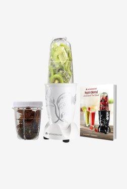Wonderchef Nutri-Blend 400 W 2 Jars Blender & Grinder (White)