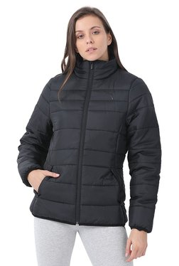 41c058e2212d Puma Black Quilted Essentials Padded Jacket Image