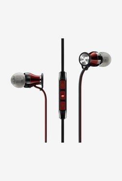 Sennheiser Momentum In The Ear Headphones (Galaxy Version) (Black/Red)