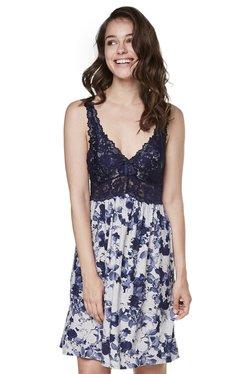 Hunkemoller Mid Grey Lace Slip Dress