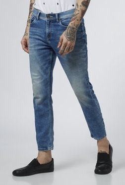 Nuon By Westside Blue Super Skinny Fit Spray On Jeans