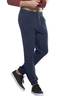 Jockey Navy Slim Fit Mid Rise Joggers - UM01
