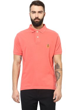 Red Tape Coral Regular Fit Polo T-Shirt