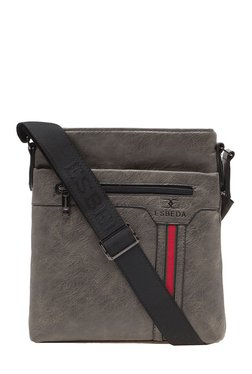 Esbeda Grey PU Sling Bag