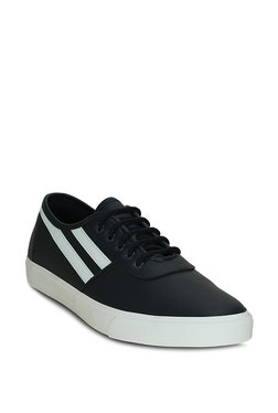 Get Glamr Ollano Low Top Navy & White Sneakers