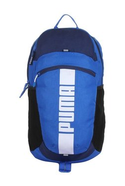 e3f9f963d46d Puma Deck Lapis Blue Solid Polyester Laptop Backpack