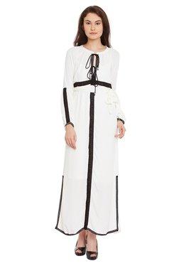 The Yellow Hanger White Regular Fit Maxi Dress