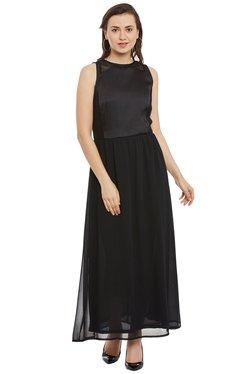 The Yellow Hanger Black Regular Fit Maxi Dress