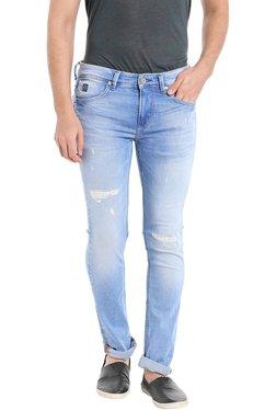 Killer Blue Skinny Fit Distressed Jeans